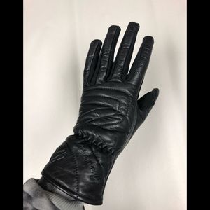 Frank Thomas leather riding gloves